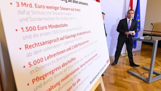 Wien verteilt großzügige Wahlpräsente
