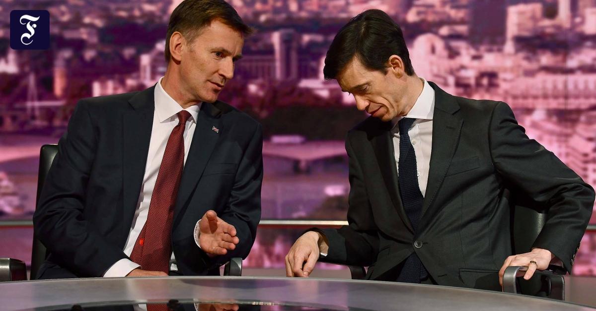 TV-Duell mit Tory-Kandidaten ohne Boris Johnson