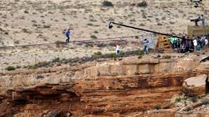 Ungesichert über den Grand Canyon