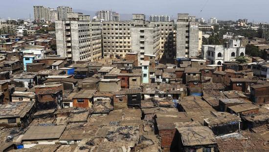 Baufällige Gebäude in Mumbai