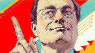 EZB-Präsident Mario Draghi muss derzeit Kritik von allen Seiten einstecken.
