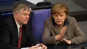 Ein Arbeiter für Merkels Erfolg