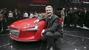 Ein Abend mit dem Audi-Chef