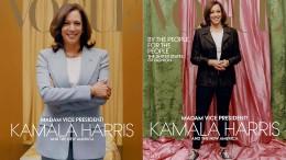 """""""Vogue"""" druckt Sonderausgabe mit neuem Bild von Kamala Harris"""