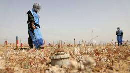 Erstes weibliches Kommando in Basra im Einsatz