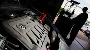 Viele Diesel-Autos fahren noch immer ohne Software-Update