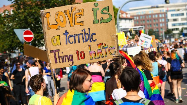 Homophobe Gewalttaten nehmen deutlich zu