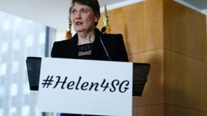 Helen Clark will an die Spitze der UN