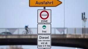 Verschärftes Diesel-Fahrverbot zum Jahreswechsel
