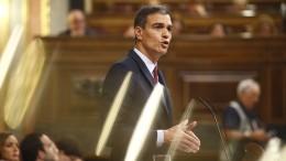 Sánchez scheitert bei erster Abstimmung im Parlament