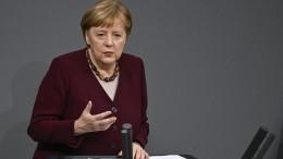 Merkel rechtfertigt strengere Maskenpflicht