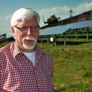 Der Mann und der Müll: Gerd Mehler auf der Deponie in Flörsheim-Wicker, die er lange geleitet hat.