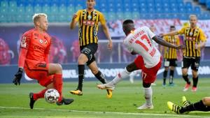 Leipzig gelingt der Europapokal-Start