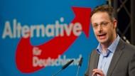 Rausgeworfen: Der ultrakonservative AfD-Politiker Marcus Pretzell muss seine Fraktion im Europäischen Parlament verlassen.