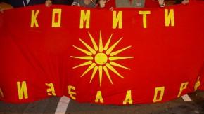 Bild 1/ Fahne / Mazedonien