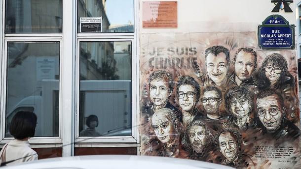 """Auftakt im """"Charlie Hebdo""""-Prozess"""