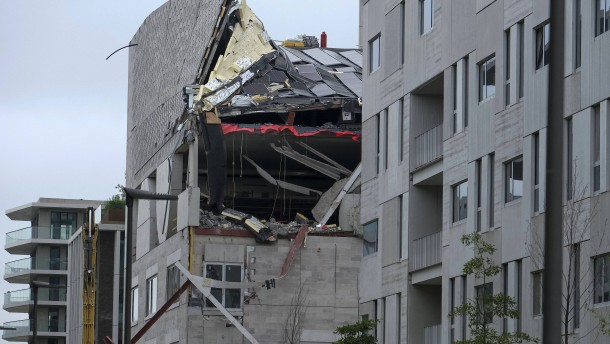 Fünf Tote bei Einsturz auf Baustelle im belgischen Antwerpen