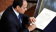 Präsident billigt umstrittenes Antiterrorgesetz