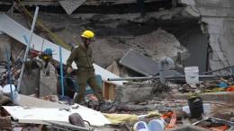 Mexiko erneut von Erdbeben der Stärke 6,1 erschüttert
