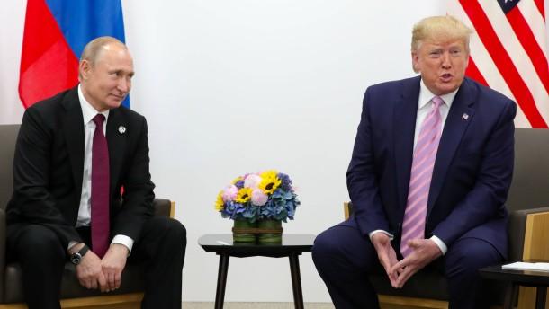 Trump und Putin sprechen über Rüstungskontrolle