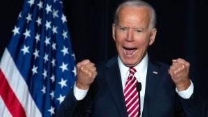 Joe Biden tritt offiziell als Präsidentschaftskandidat an