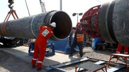 Das umstrittene Nord Stream 2-Projekt