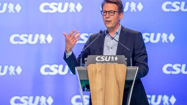 CSU fordert CDU zur Fehleranalyse auf – vier Tage vor der Wahl