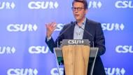 CSU-Generalsekretär Blume fordert CDU zur Fehleranalyse auf