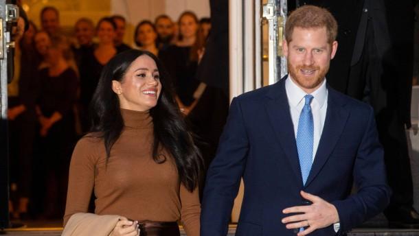 Neues Glück für Meghan und Harry in Kanada?