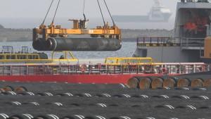 Merkel lehnt Gegensanktionen zu Nord Stream 2 ab