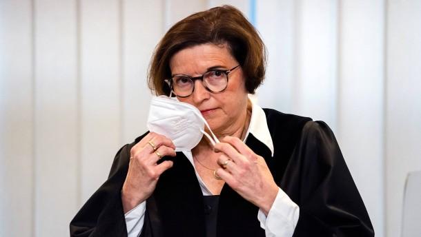 Die Richterin ging an die Grenze