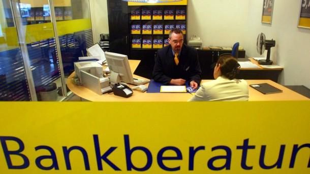 Postbank will sich verstaerkt um vermoegende Kunden kuemmern