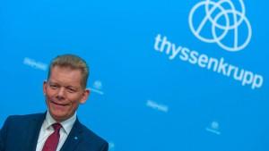 Scheidender Thyssen-Krupp-Chef erwartet Millionenbetrag