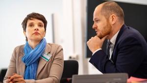 Petry zu 6000 Euro Geldstrafe verurteilt