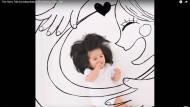 """""""The Hairy Tale by babychanco"""": So erzählen die Eltern die Geschichte ihrer Tochter."""
