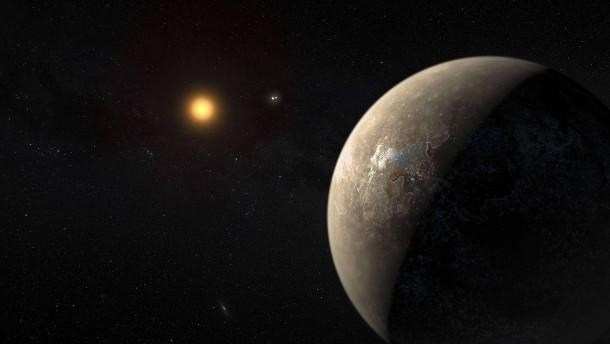 Feuchter Exoplanet in kosmischer Nachbarschaft?
