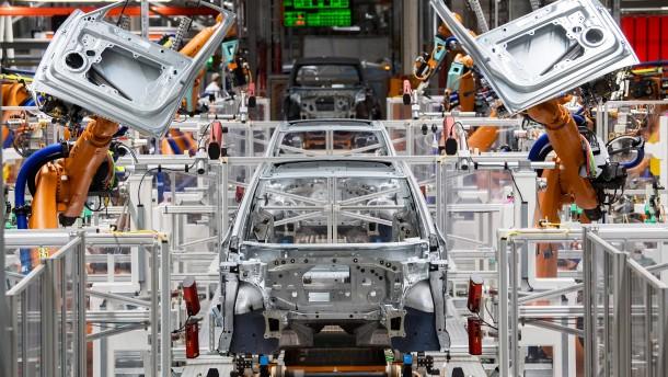 Mehr Roboter in Deutschlands Industrie