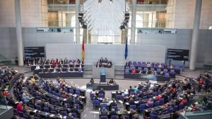 Asylrechtsreform im Bundestag