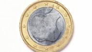 Eine runde Sache? Besitzer von Apple-Smartphones hoffen darauf, Appel Pay bald auch in Deutschland nutzen zu können.