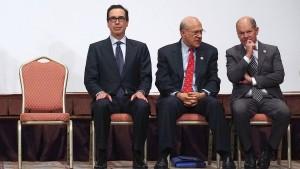 Die handelspolitischen Konflikte bleiben ungelöst