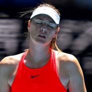 """""""Es ist schwer für mich zu sagen, was in den nächsten 12 Monaten passiert"""", sagt Maria Scharapowa nach ihrem Erstrunden-Aus bei den Australian Open."""