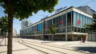 Wo die Musik spielt: der Opernteil der Theaterdoppelanlage der Städtischen Bühnen