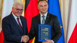 Steinmeier trifft polnischen Präsidenten