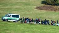 Der Staat gibt die Richtung vor: Foto aus dem Oktober 2015 nahe Wegscheid in Bayern