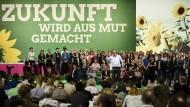 Grüne wollen im Bund mitregieren