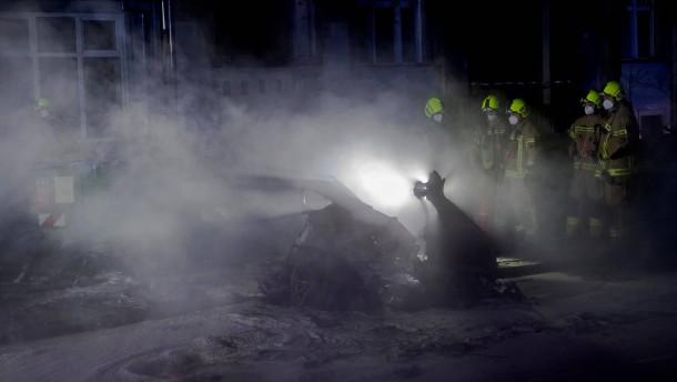 Zwei Tote bei schwerem Unfall an Berliner Park