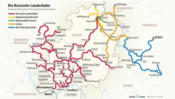 Hessische Landesbahn streicht Verbindungen