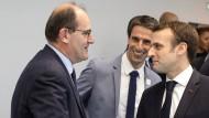 Republikaner Jean Castex (links) folgt auf Edouard Philippe als Premierminister Frankreichs