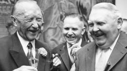 Welche Rolle spielte Erhard im Dritten Reich?