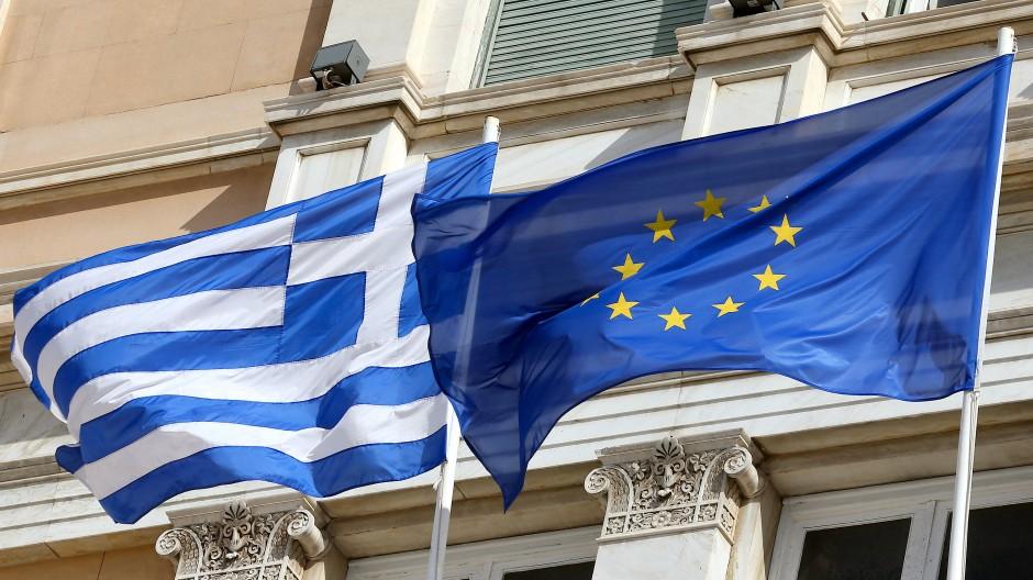 Haben schon manchen Sturm überstanden: Griechenland und die EU.